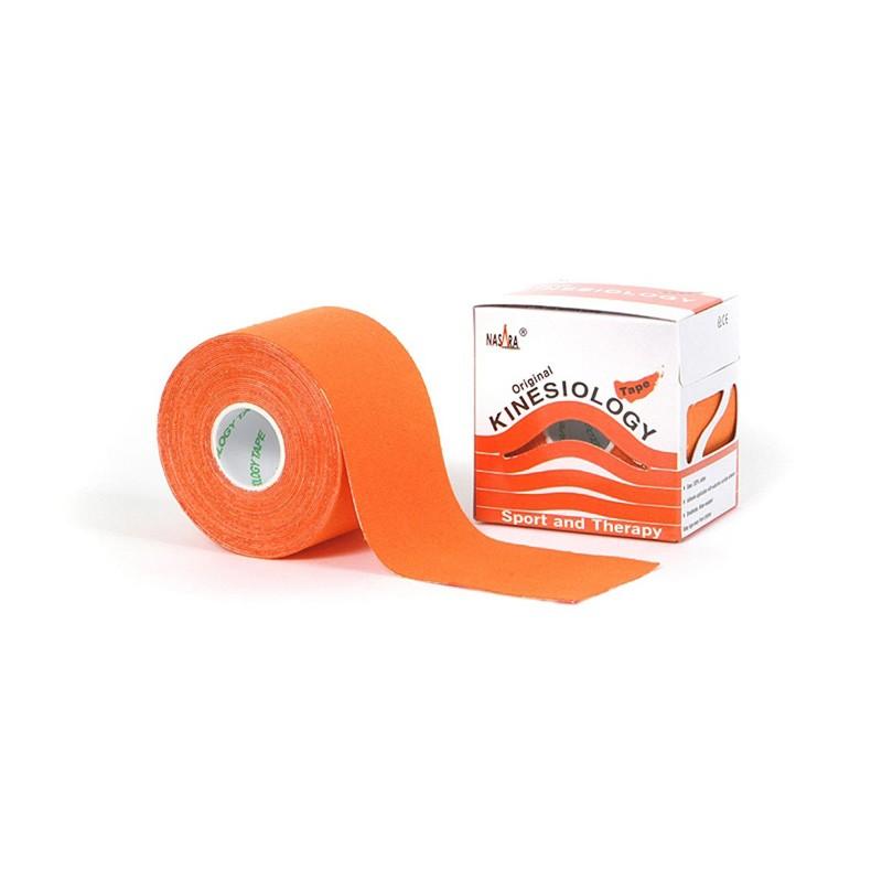 Nasara Kinesiologie Tape orange 5cm x 5m