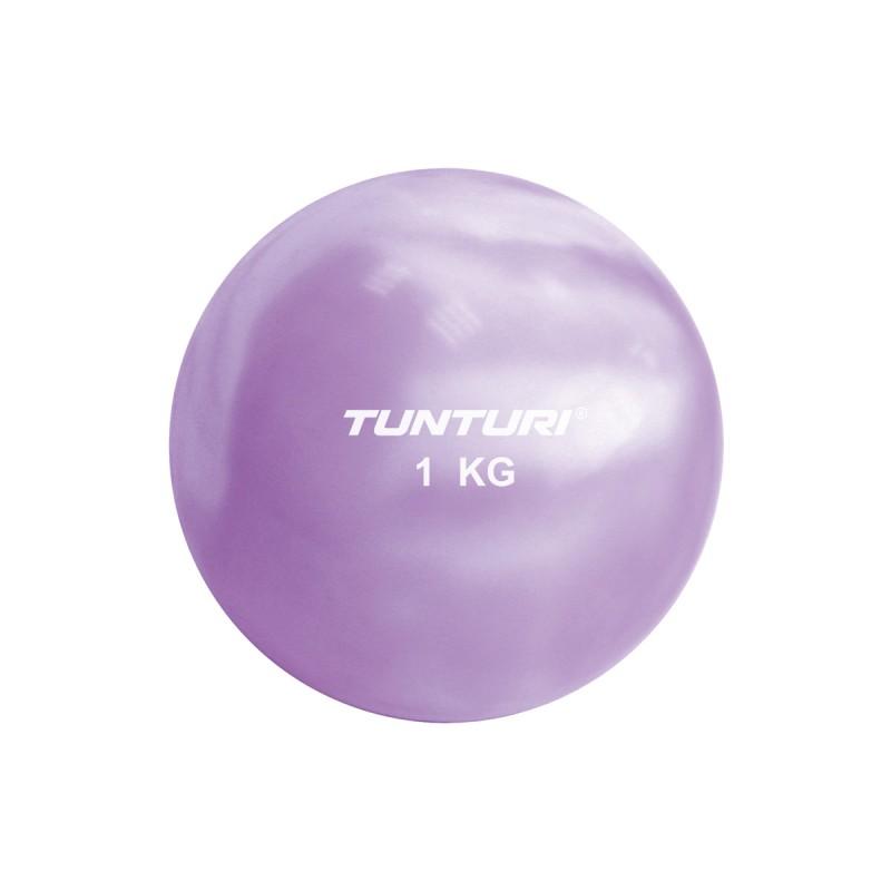 Abverkauf Tunturi Yoga Toningbal 1kg Purple
