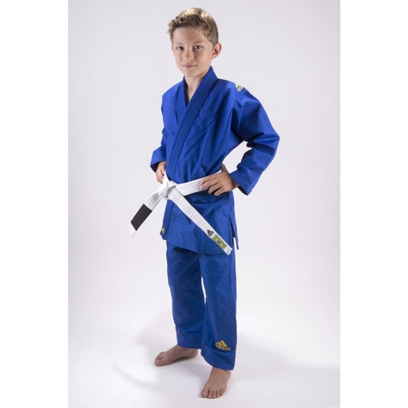 Abverkauf Adidas JJ280 Response BJJ Gi Kids Blau