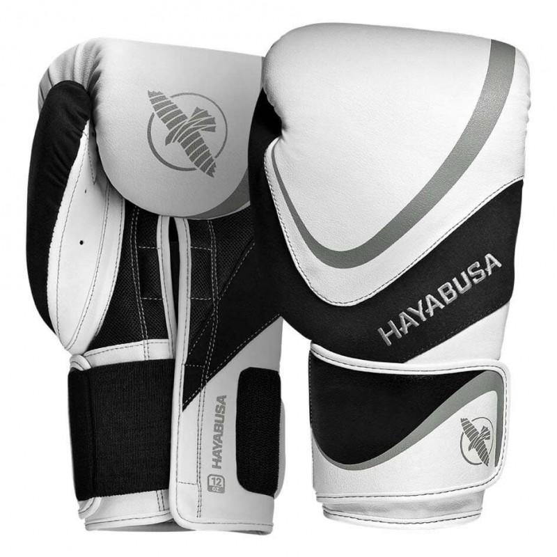 Hayabusa H5 Boxhandschuhe White Grey