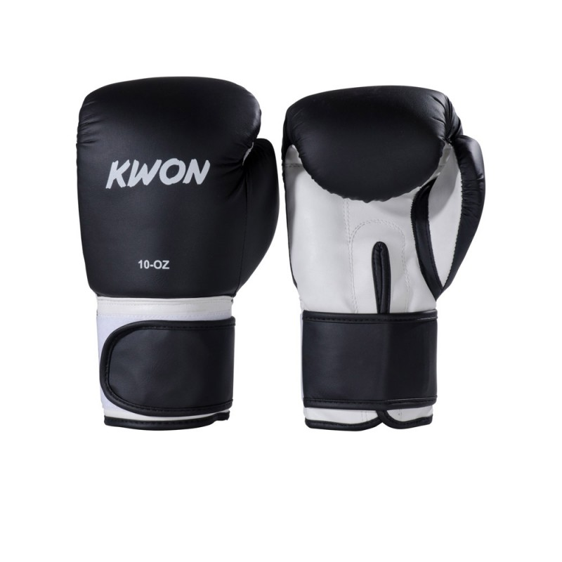Kwon Fitness Boxhandschuh schwarz