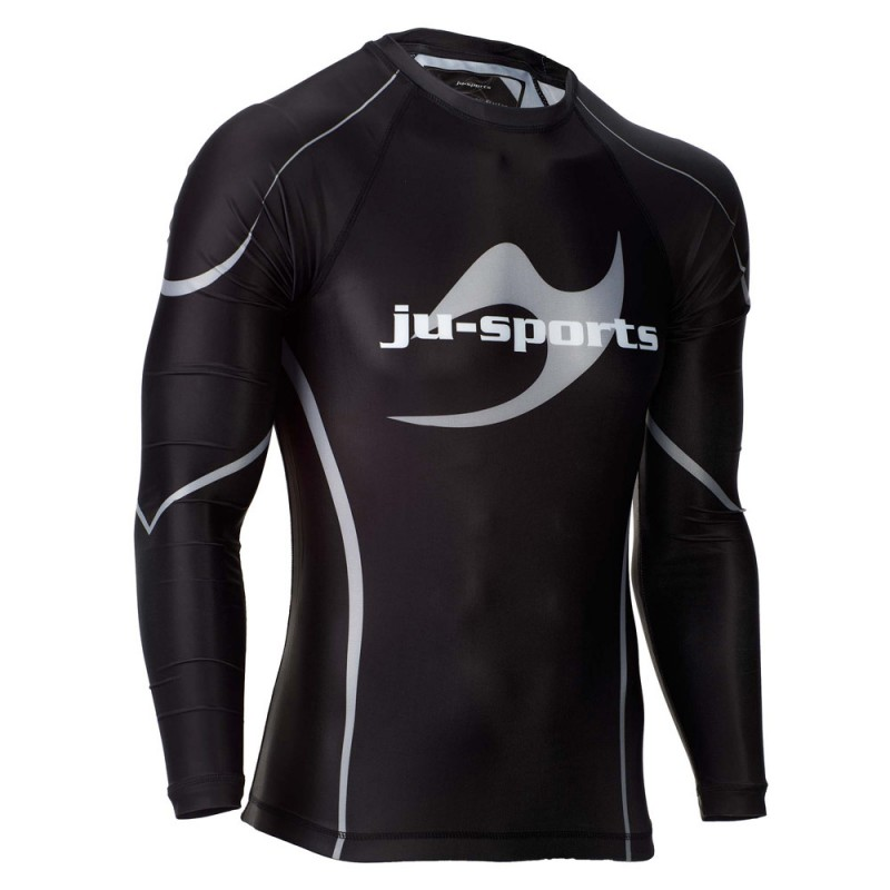 Ju- Sports Rashguard Pro C18 LS black