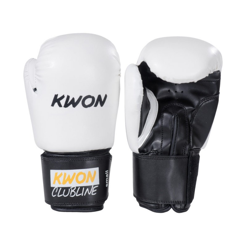 Kwon Clubline Pointer 8oz Boxhandschuhe weiss
