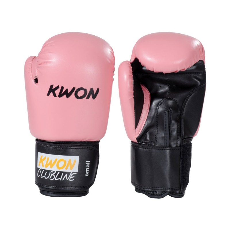 Kwon Clubline Pointer 8oz Boxhandschuhe Pink
