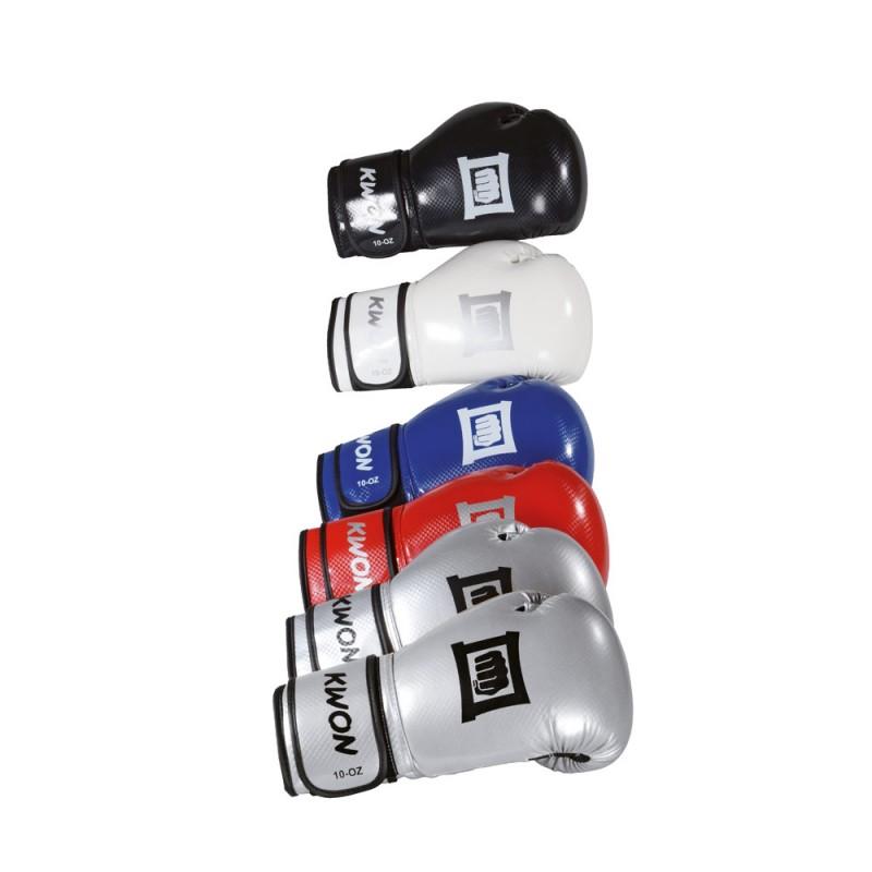 Kwon Fitness Reflekt 10oz Handschuhe schwarz