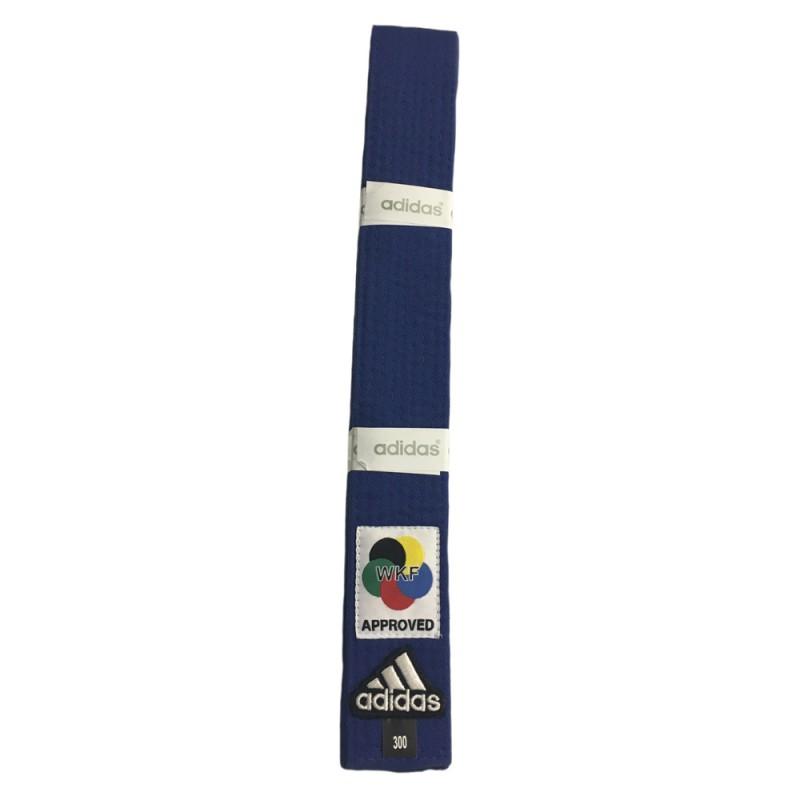 Abverkauf Adidas Elite Gürtel WKF Blau