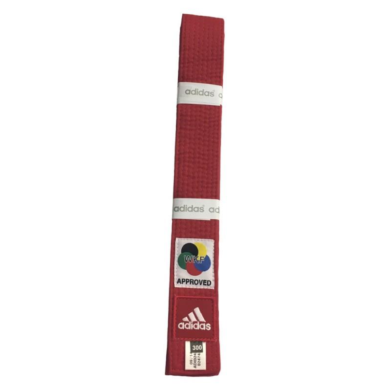 Abverkauf Adidas Elite Gürtel WKF Rot