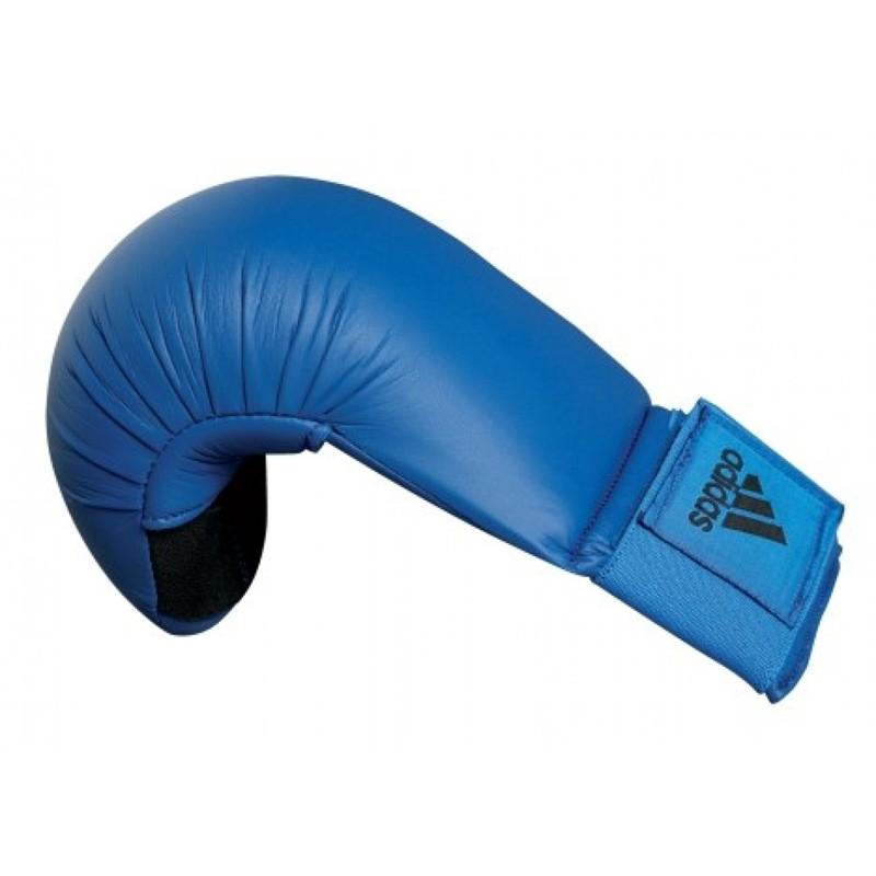 Abverkauf Adidas Kumite Karate Faustschutz Blau