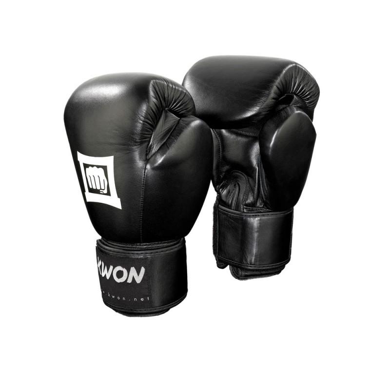 Kwon Sparring Champ Boxhandschuhe schwarz