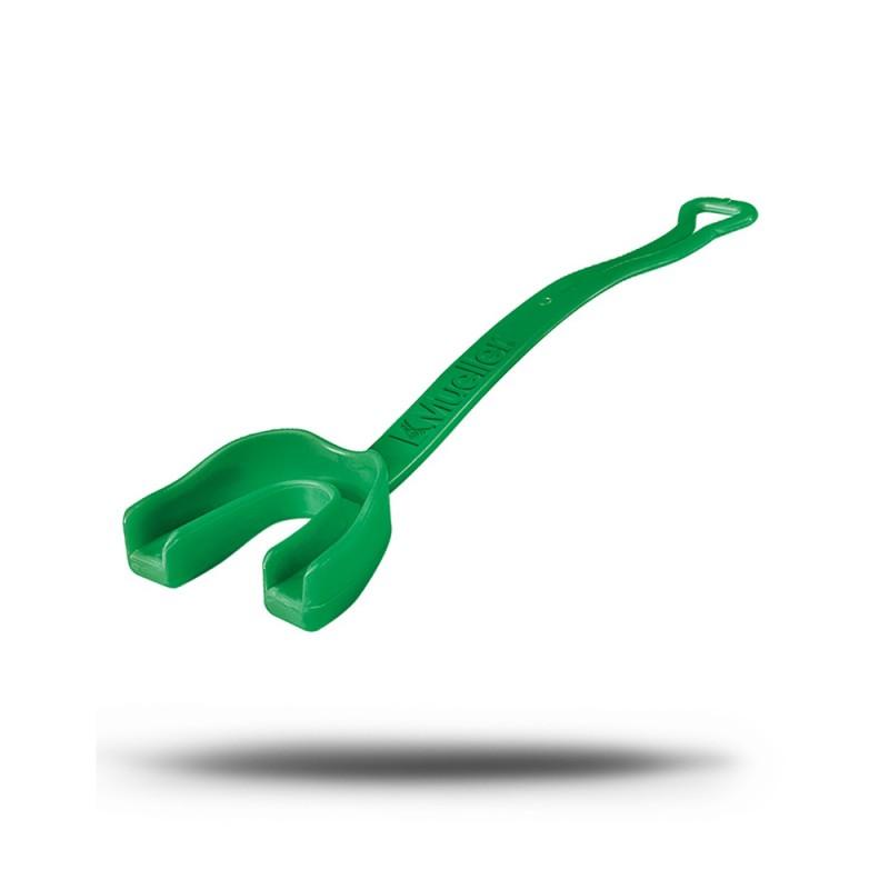 Mueller Zahnschutz mit Gurt irischgrün