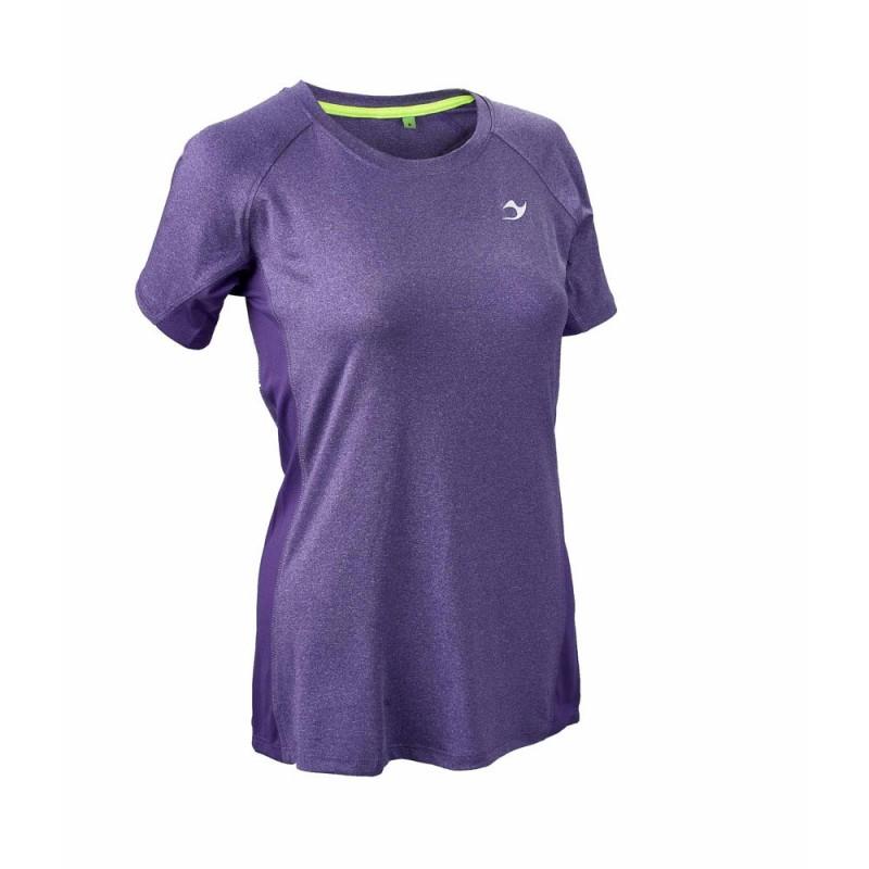 ju-Sports Gym Line Tee Basic lila