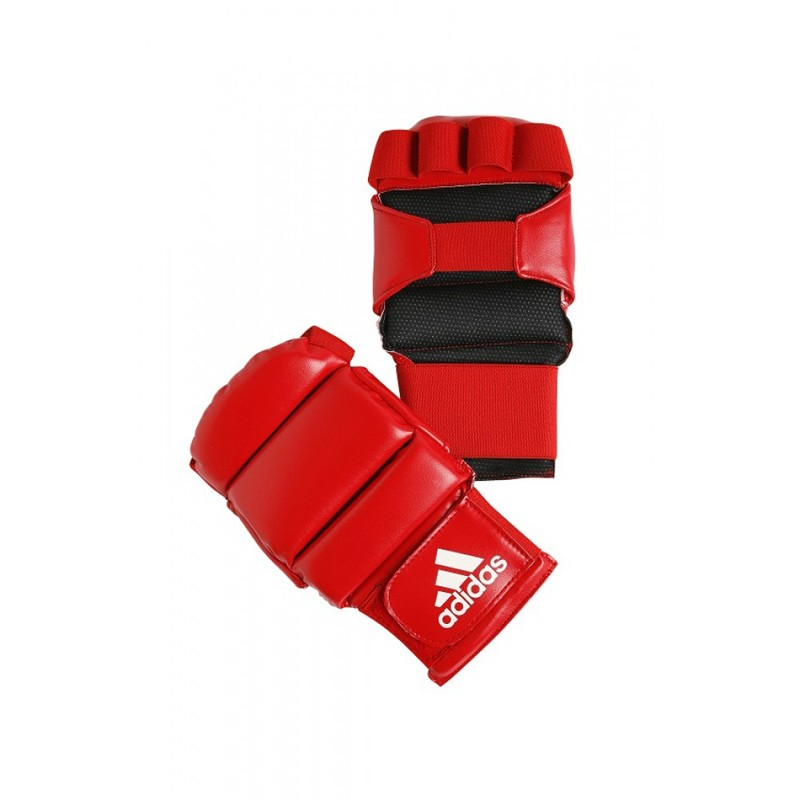 Abverkauf Adidas Ju Jutsu Handschutz Rot