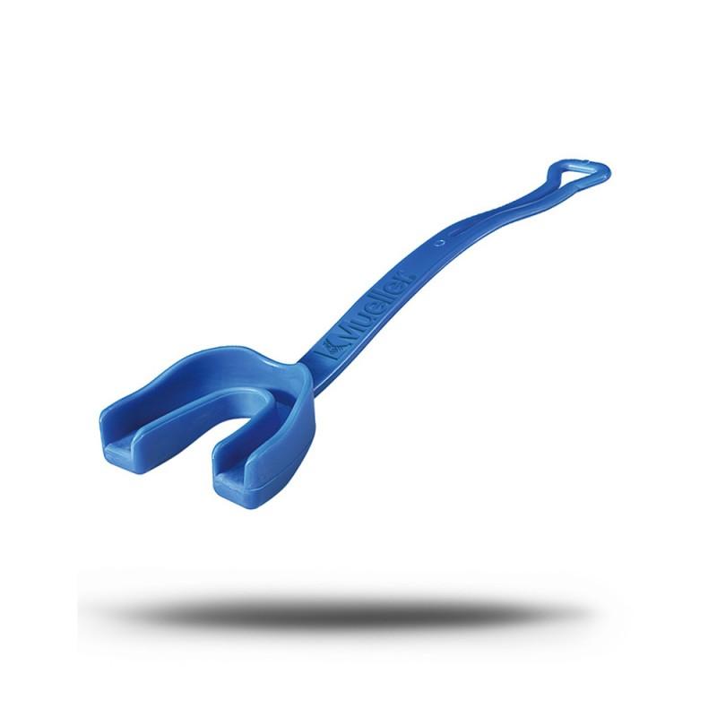 Mueller Zahnschutz mit Gurt königsblau