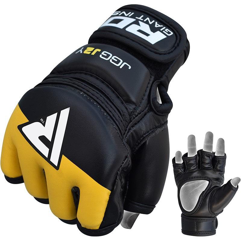 RDX Grappling Handschuh KIDS schwarz gelb