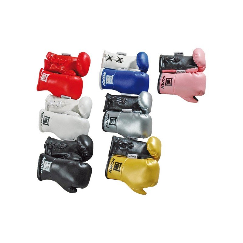 Kwon Mini Boxhandschuhe silber