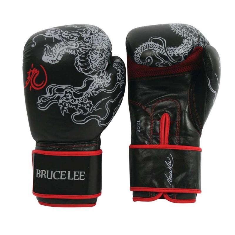Abverkauf Bruce Lee Dragon Deluxe Boxhandschuhe Leder