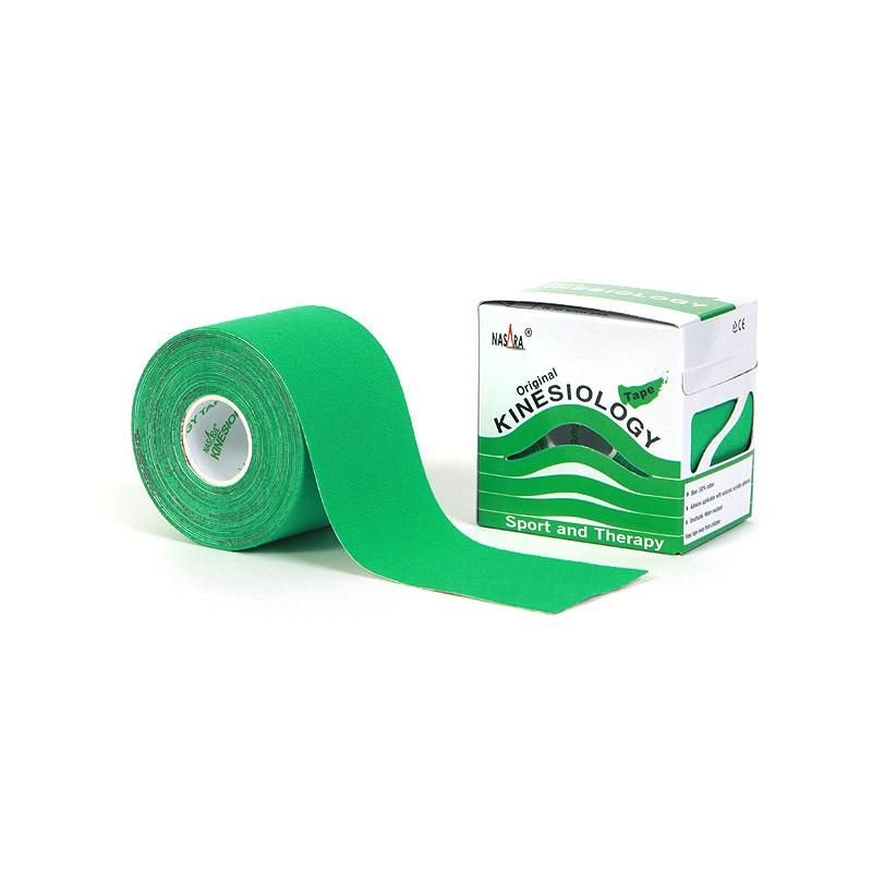 Nasara Kinesiologie Tape grün 5cm x 5m