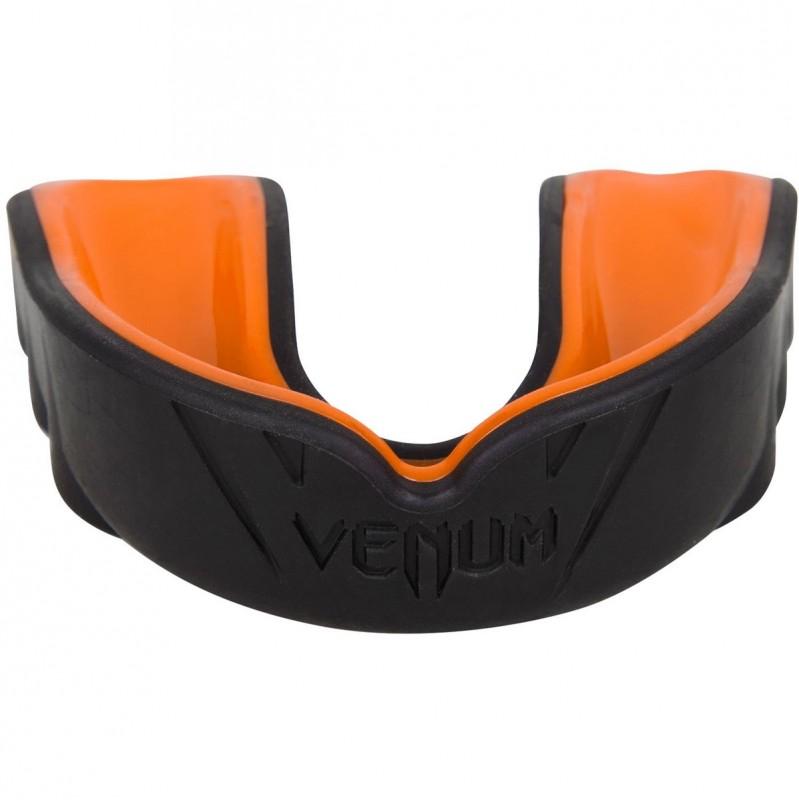Venum Challenger Mouthguard Black Orange