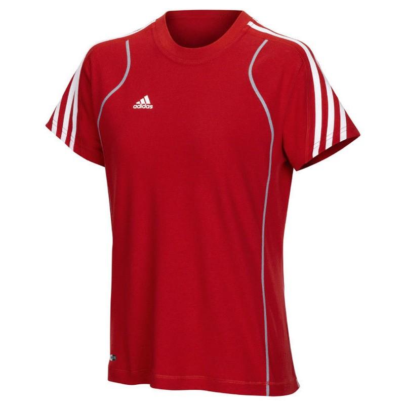 Abverkauf Adidas T8 Team T-Shirt Frauen Rot