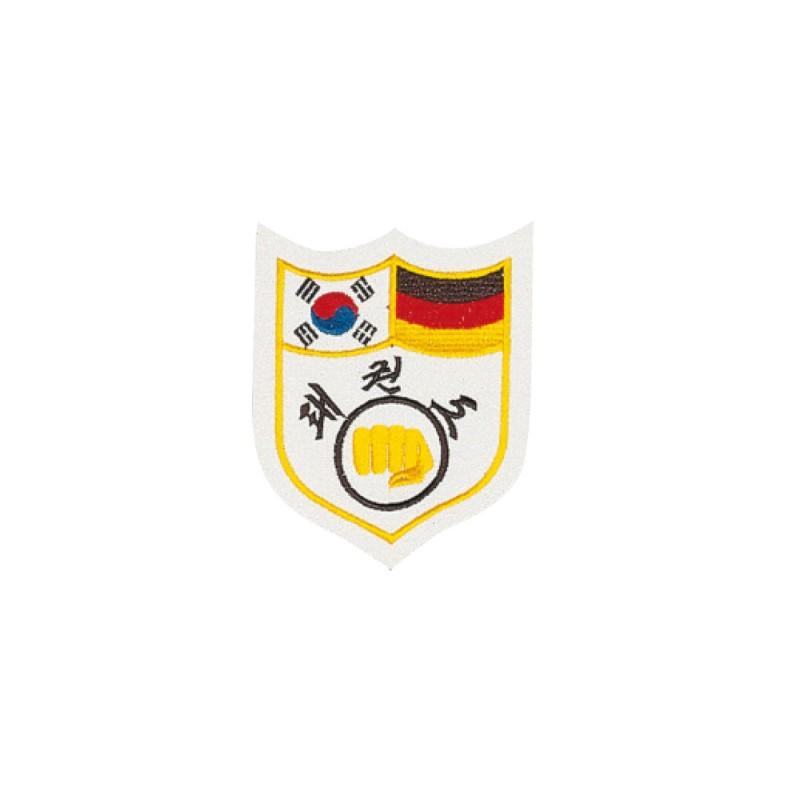Kwon Deutsch Koreanisches TKD Freundschaftsabzeichen