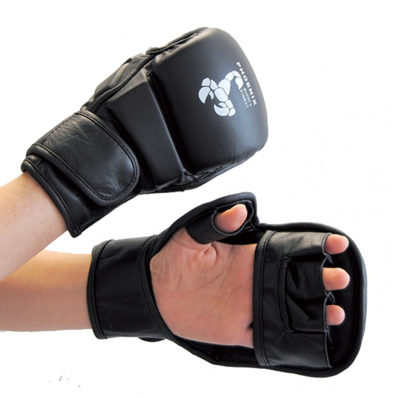 Abverkauf Phoenix MMA Handschutz Budos Finest Leder