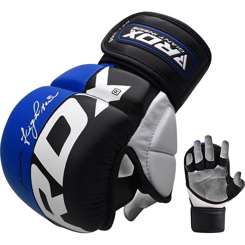 RDX MMA Sparring Handschuh T6 blau