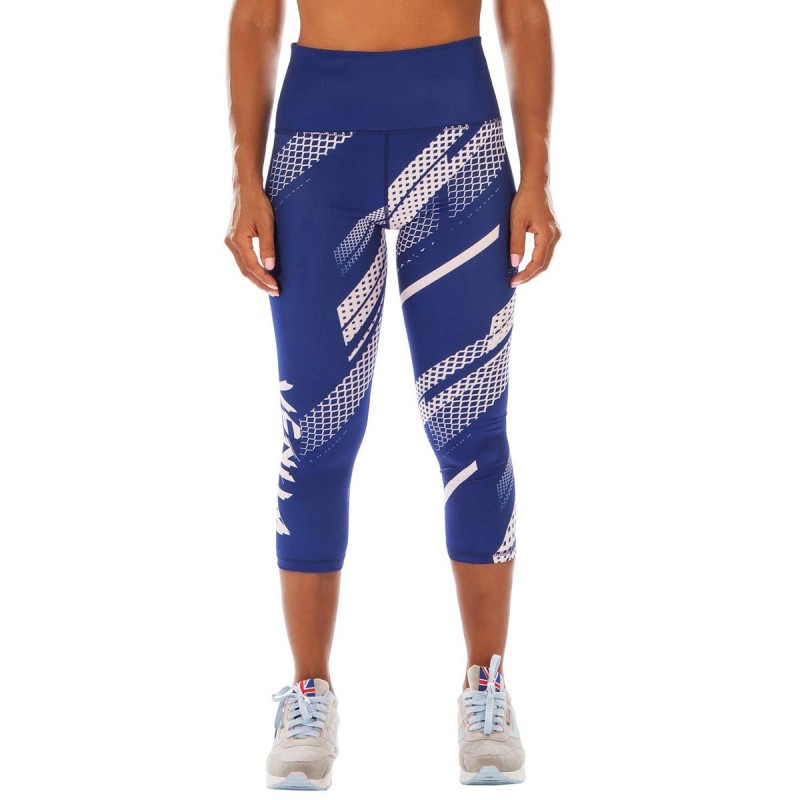 Venum Rapid Leggings Women Navy Blue Coral