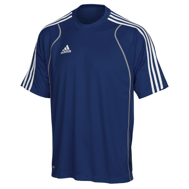 Abverkauf Adidas T8 Clima T-Shirt Jugend Blau