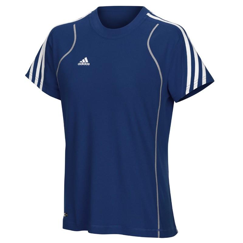 Abverkauf Adidas T8 Team T Shirt Frauen Blau günstig kaufen