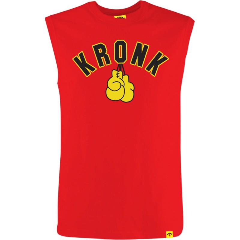 Kronk Gloves SL T-Shirt Red