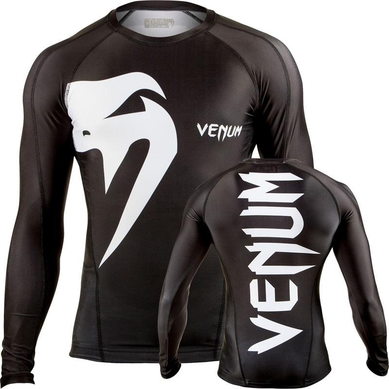 Venum Giant Rashguard Black LS