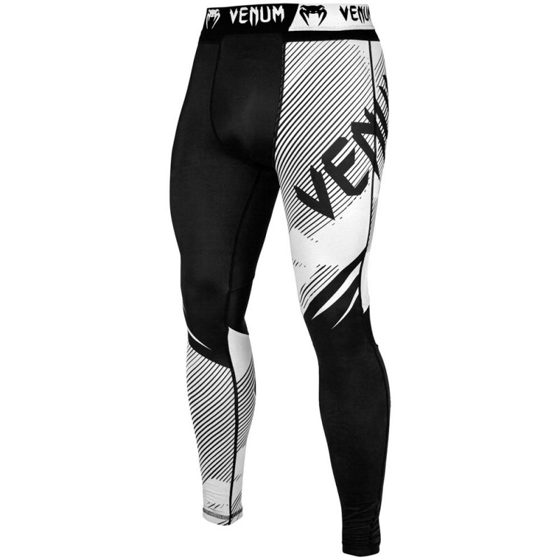 Venum Nogi 2.0 Spats Black White