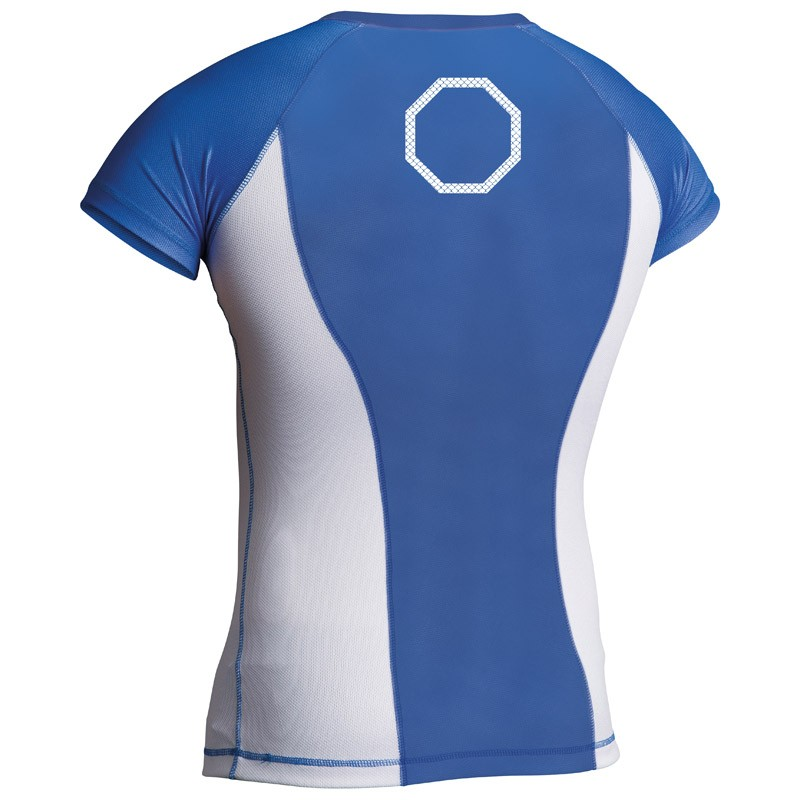 Abverkauf Adidas Rashguard Octagon Power Blue White