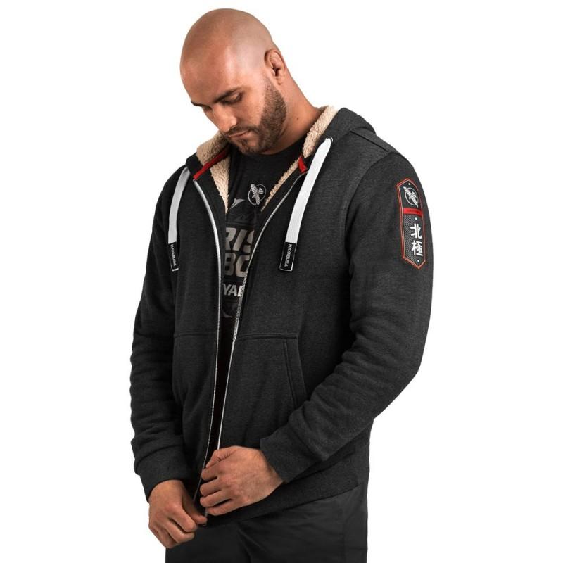 Hayabusa Heavyweight Zip Hoody Arctic Black
