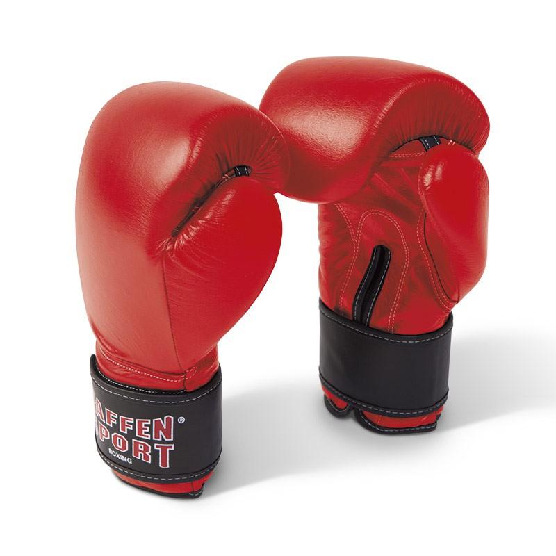 Paffen Sport KIBO FIGHT Line Boxhandschuhe Leder rot