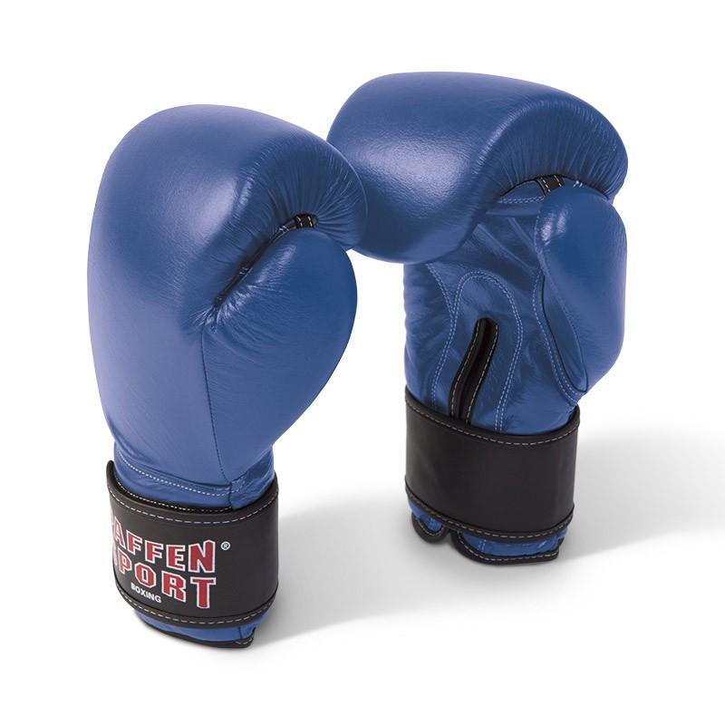 Paffen Sport KIBO FIGHT Line Boxhandschuhe Leder blau