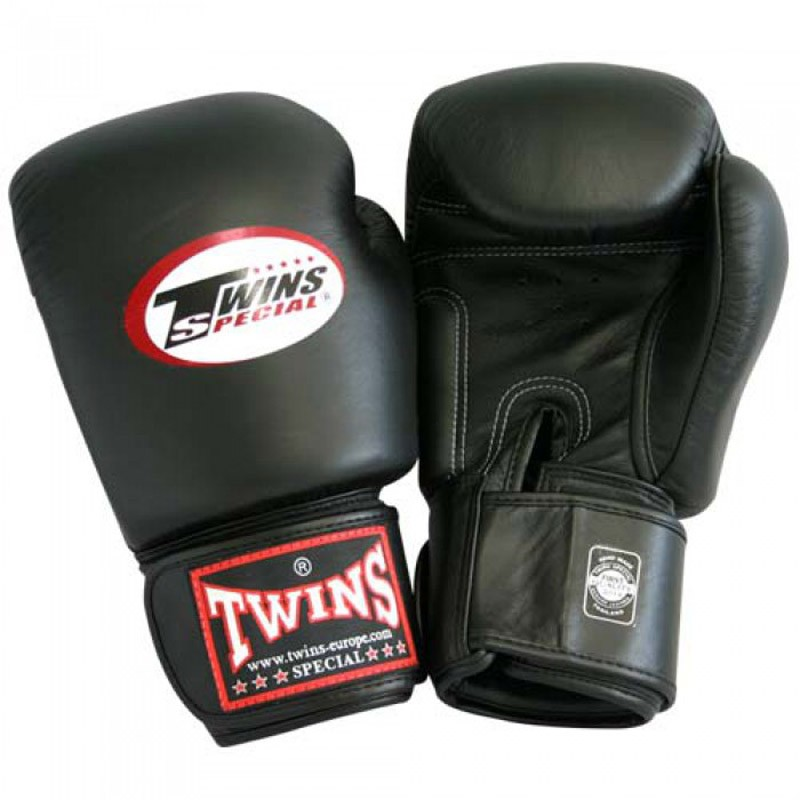 Twins BGVL 3 Black Boxhandschuhe Leder