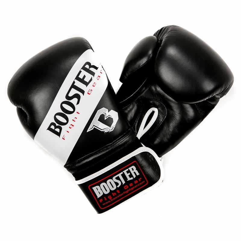 Booster BT Sparring White Stripes Synthetic Leather Boxhandschuh