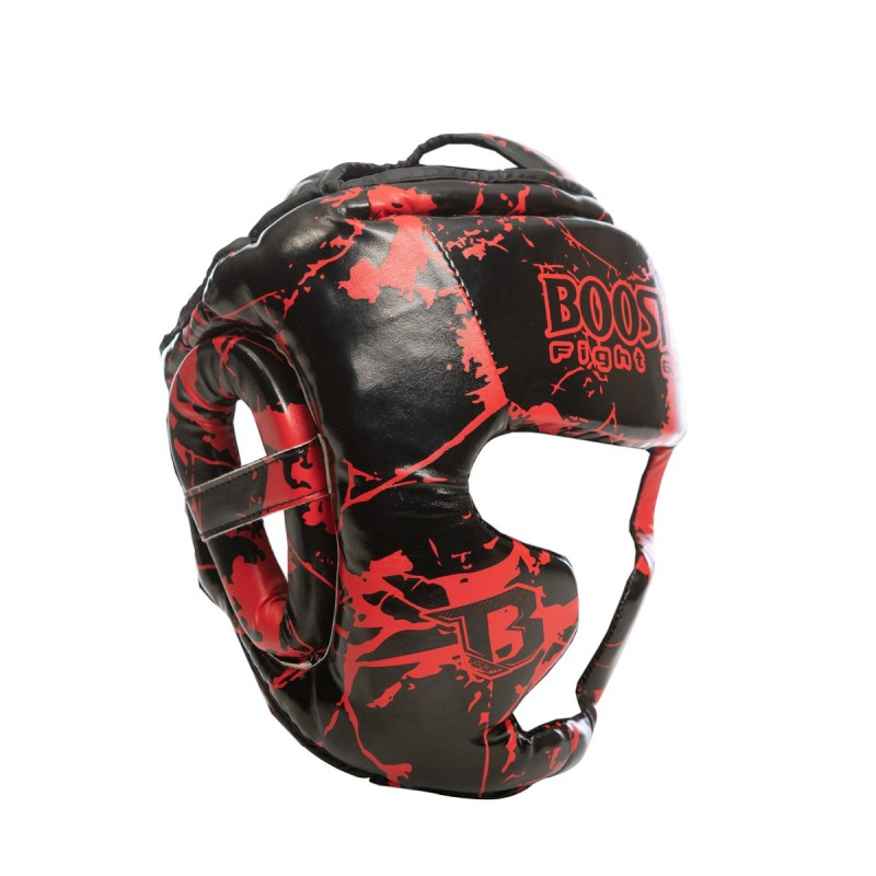 Booster Kopfschutz HGL B2 Youth Marble Red