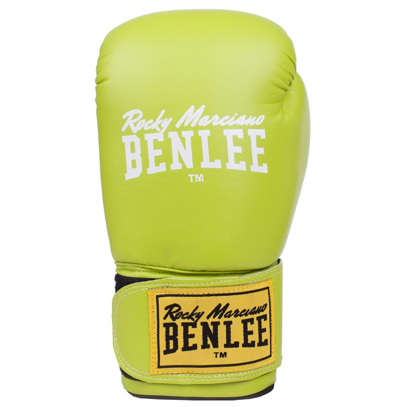 Benlee Artif. Leather Boxing Gloves Rodney Green White