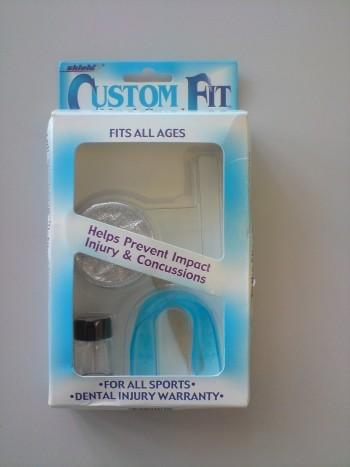 SHIELD-WILSON Custom Fit giessbarer Zahnschutz -amerikanisch-