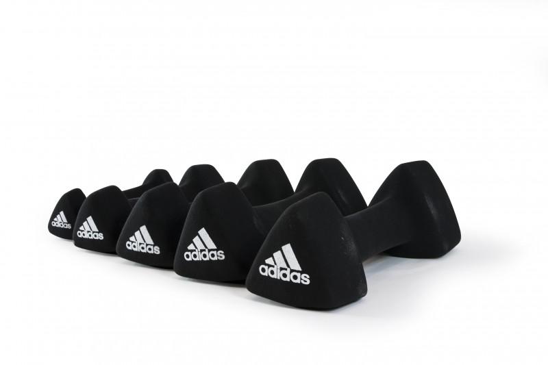 Adidas Hantel 1 - 5 kg je Stück