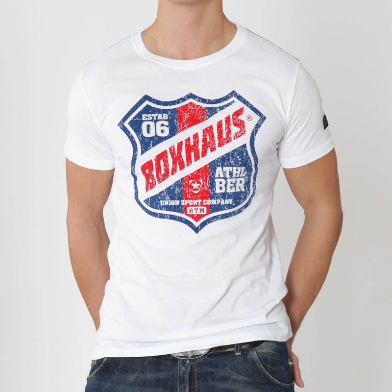 Abverkauf BOXHAUS Brand Athl.City Tee white XS