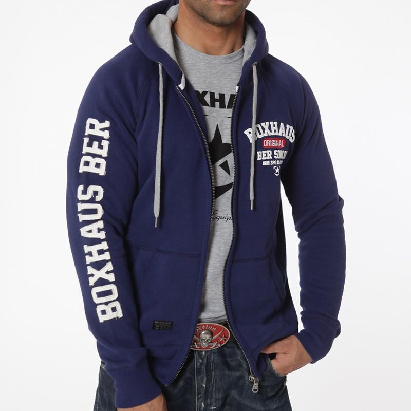 Deal Des Monats BOXHAUS Brand Zip Hoodie Gasper