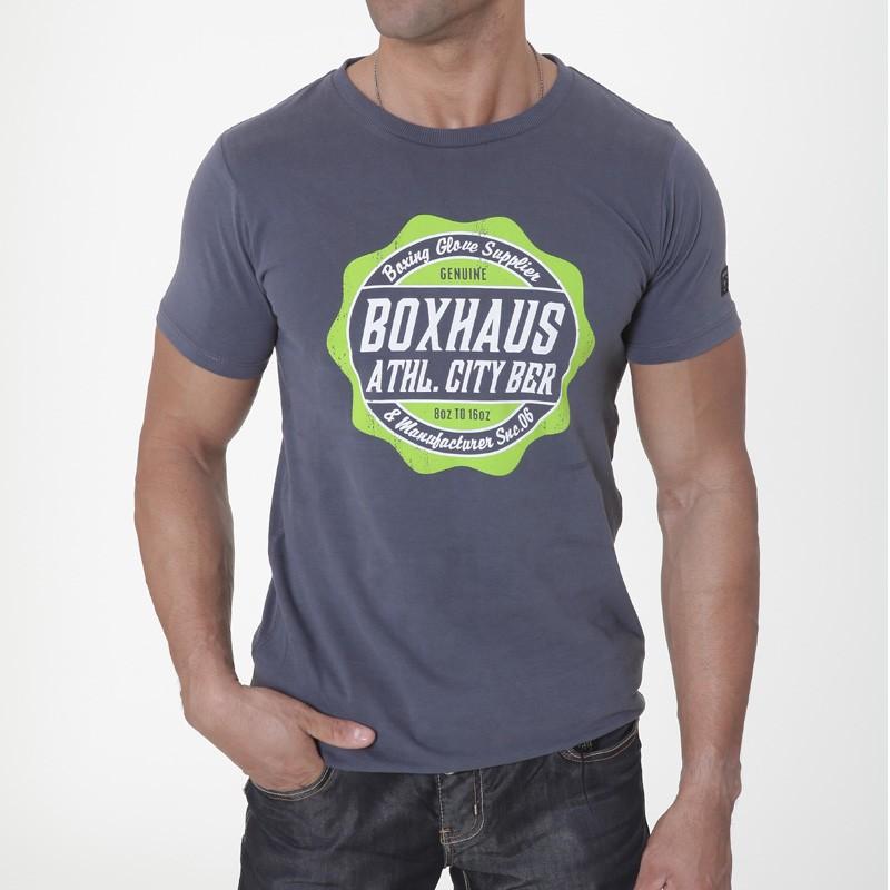 Abverkauf BOXHAUS Brand Reon Tee Slate Grey XS S