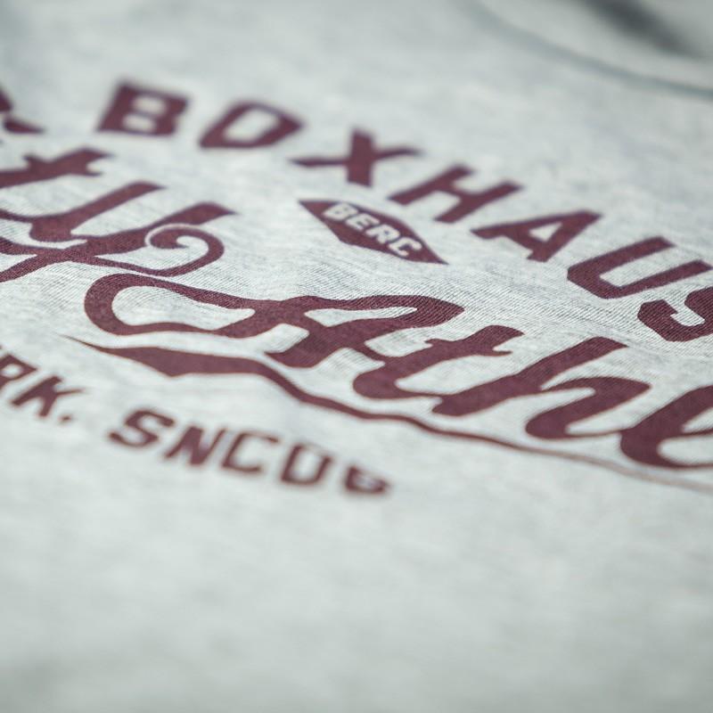 Abverkauf  BOXHAUS Brand Trained Tank Top Men grey htr