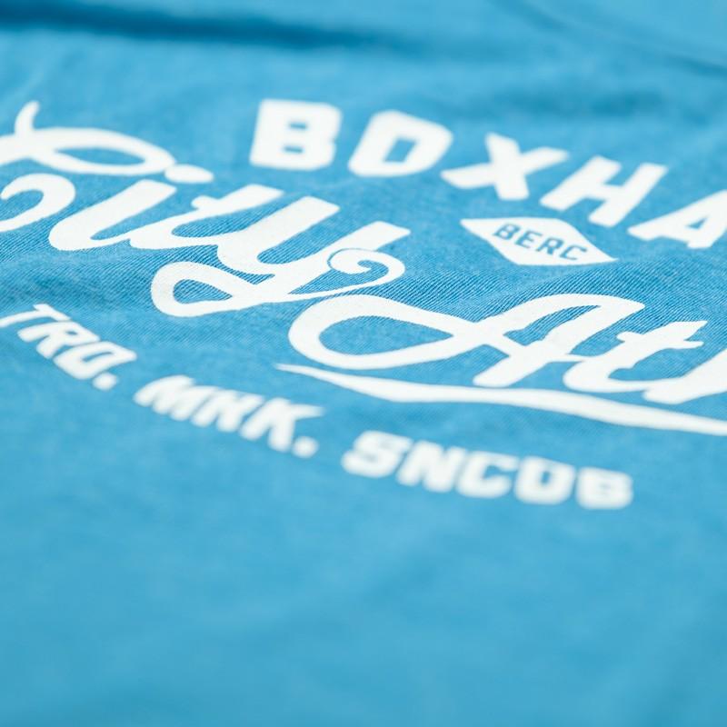 Abverkauf  BOXHAUS Brand Trained Tank Top Men blue htr