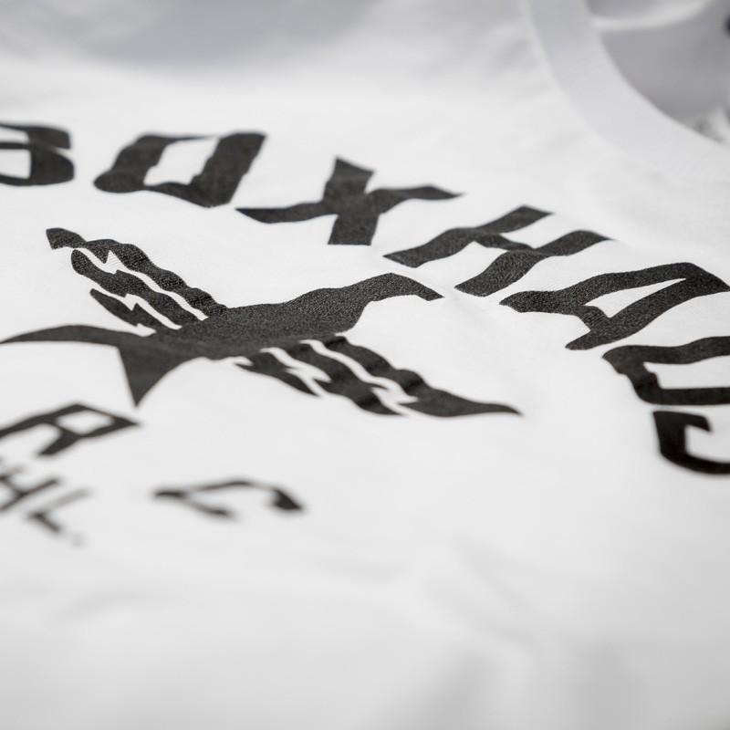 Abverkauf BOXHAUS Brand SOAR Longsleeve Shirt white