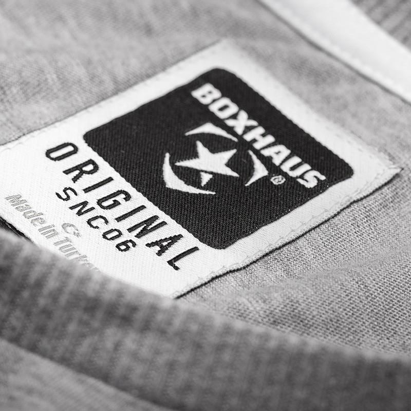 Abverkauf BOXHAUS Brand Rayto Shirt grey htr