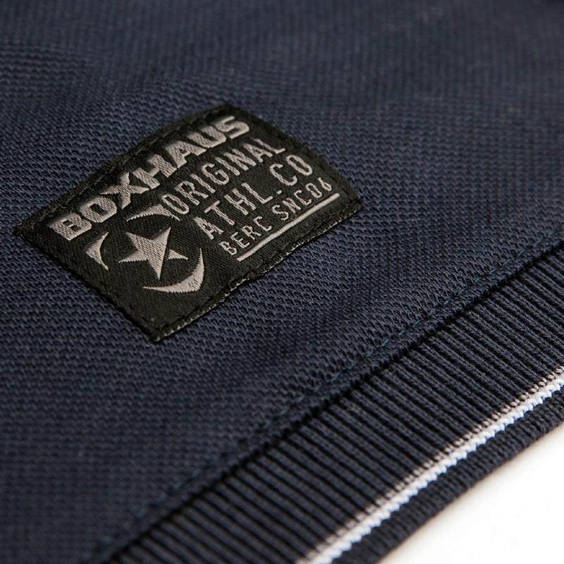 Abverkauf  BOXHAUS Brand Sairon Poloshirt navy